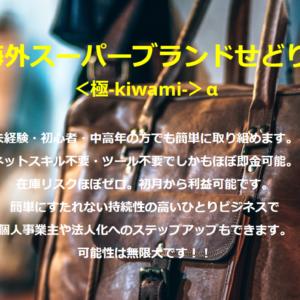 海外スーパーブランドせどり<極-kiwami->α