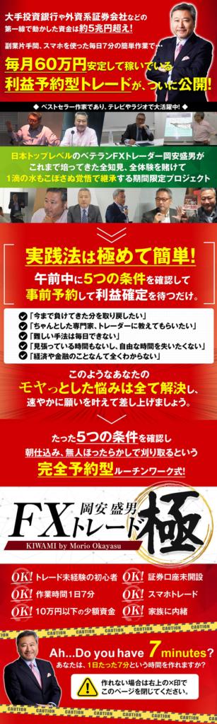 岡安盛男のFX極[特典付き]