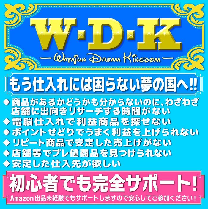 ディズニーせどりW.D.K